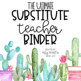 Long-Term Substitute Binder EDITABLE