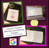 Long-Term Sub / Maternity Leave Binder and Planning Guide