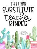 Long-Term Substitute Binder (British English Version)