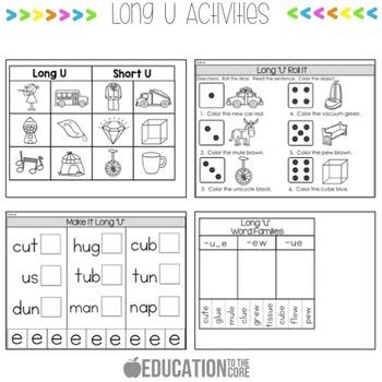 Long U Activities