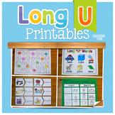 Long U Activities   Long U Worksheets