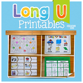 Long U Activities | Long U Worksheets