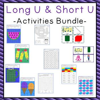 Long U Activities Bundle