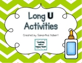 Long U Activities (Printables and Centers for K-1)