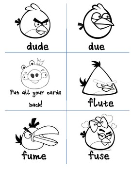 Long U Angry Birds
