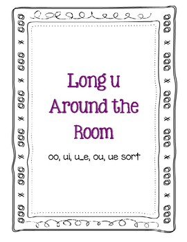 Around the Room - Long U (B&W)