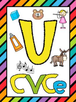 Long U (CVCe) Phonics Worksheets (No Prep)