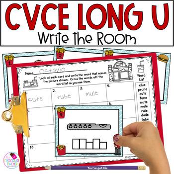 Long U CVCe Write the Room