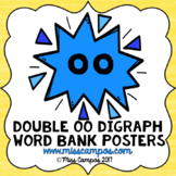 Digraph OO Word Wall Cards