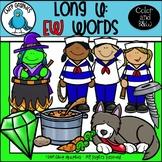 Long U: EW Words Clip Art Set - Chirp Graphics