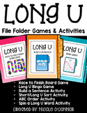 Long U File Folder Games and Activities