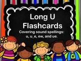 Vowel Time- Long U Flashcards