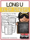 Long U Flip Strips - 6 Magic E/CVCe/CCVCe Cut, Fold, & Fli