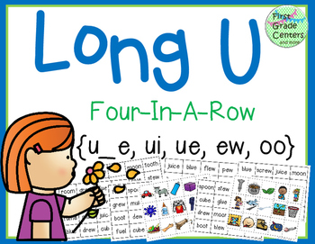 Long U: Four In A Row {u_e, ue, ui, ew, oo}