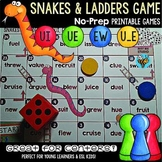 Long U Game: Snakes and Ladders (u_e, ue, ew, ui)