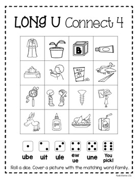 Long U Interactive Phonics Practice