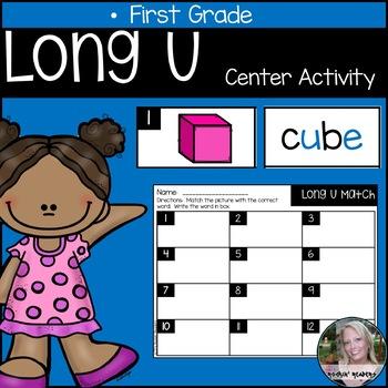 Long U Literacy Center Activity