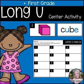 Long U Literacy Center Activity