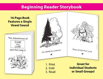 Long U Little Book: Beginning Reader Storybook {Freebie}