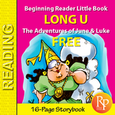 Long U Little Book: Beginning Reader Storybook {Freebie}