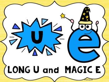 Long U Magic E Posters