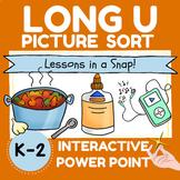 LONG U PICTURE SORT