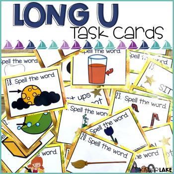 Long U Scoot/Task Cards