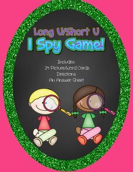 Long U/ Short U I Spy Game