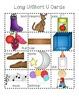 Long U/ Short U Picture Sort File Folder Activity/Literacy Center