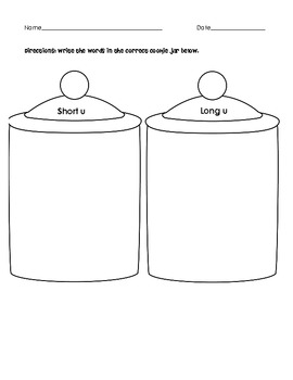 Long U Short U Xmas Cookie Jar sort