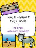 Long U - Silent E Mega Bundle! [11 no-prep games and activities]