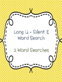 Long U - Silent E Word Searches