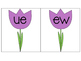 Long U Sort (UE and EW) {Spring Theme}