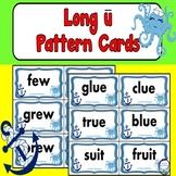 Long U Word Sort Cards