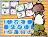 Long U Task Cards - Scoot Game