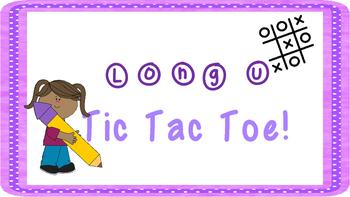 Long U Tic Tac Toe