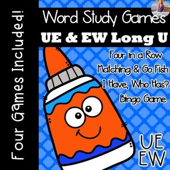Long U: UE, EW [[Word Family GAMES!]]