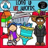 Long U: UI Words Clip Art Set - Chirp Graphics