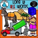 Long U: U_E Words Clip Art Set - Chirp Graphics