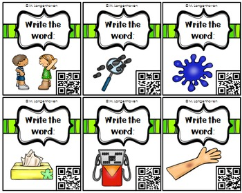 Long U Vowel Board Game (with or without QR codes)