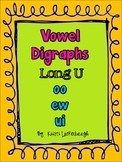 Long U Vowel Digraphs - oo, ew, ui