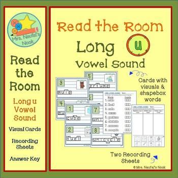 Alphabet Read the Room Long Vowel U