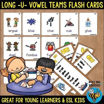 Long U  Flash Cards