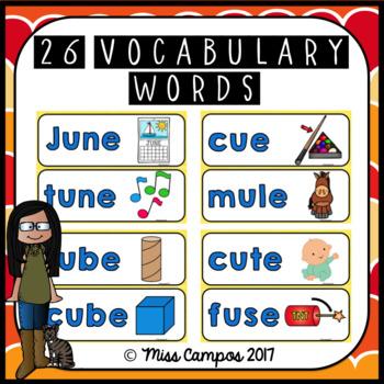 Long Vowels Long U Magic  CVCe Words