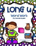Long U Word Work