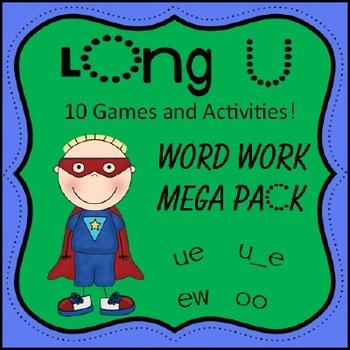 Long U Word Work Pack