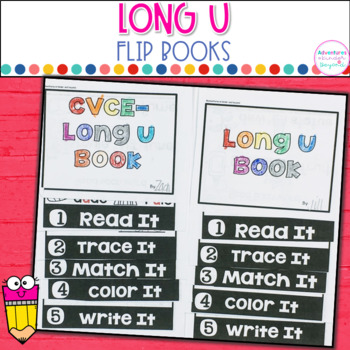 Long U Words- Flip Book