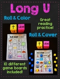 Long U Silent E Words Roll Game