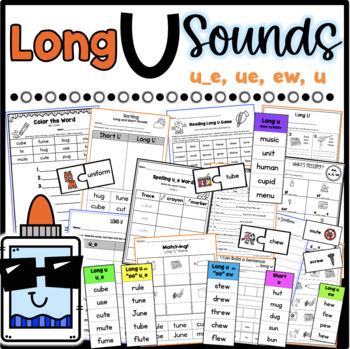 Long U Worksheets *Differentiated