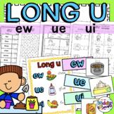 Long U Worksheets ew, u_e, ue, ui